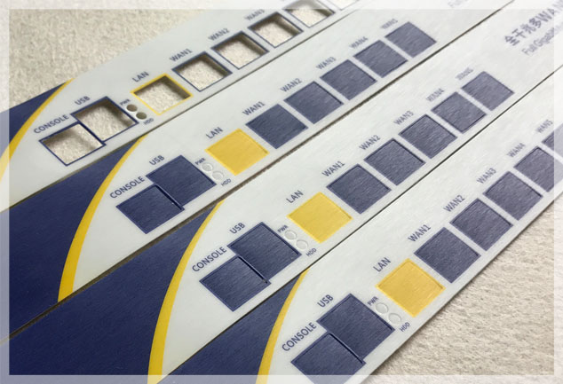 Brushed Polycarbonate Control Panels