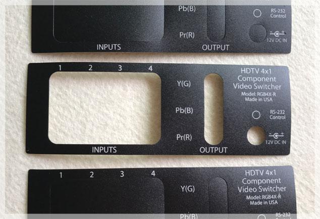 Custom Screen Printed Control Panels