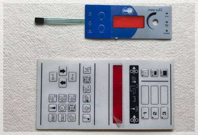 Lexan Membrane Switches