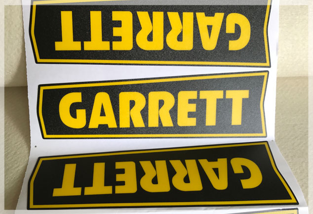 Screen Printed PVC Graphic Overlays